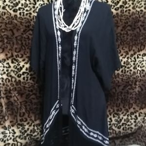 FORGOTTEN GRACE Fringed Boho Top